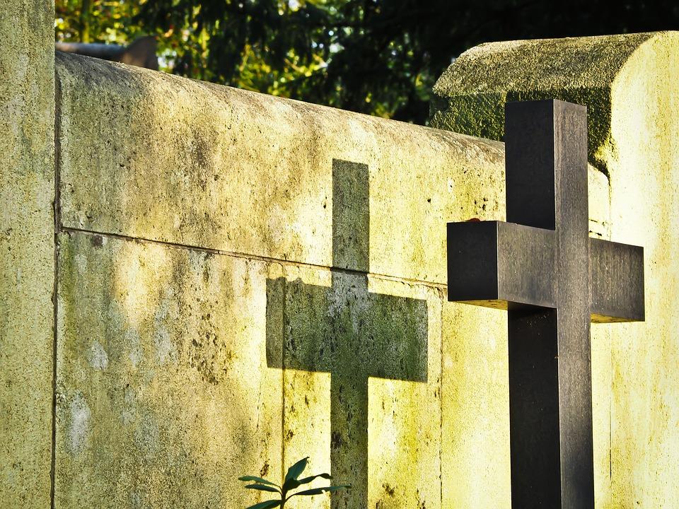 墓 十字架