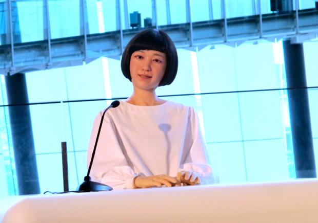 コドモロイドの声に人気子役エヴァちゃん!お台場、日本科学未来館で見れるよ