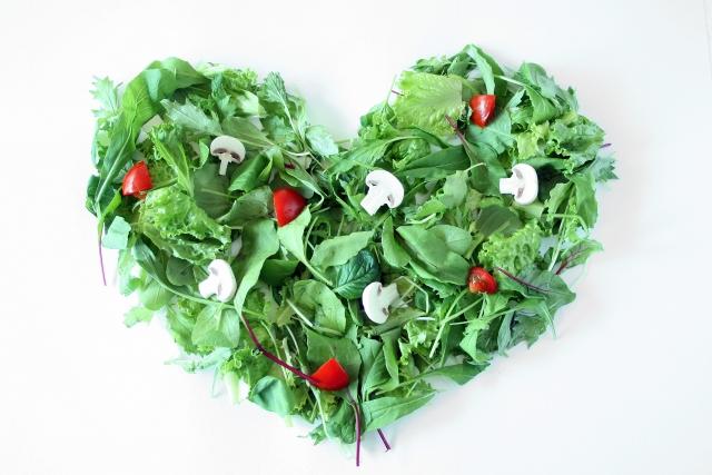 野菜、ハート