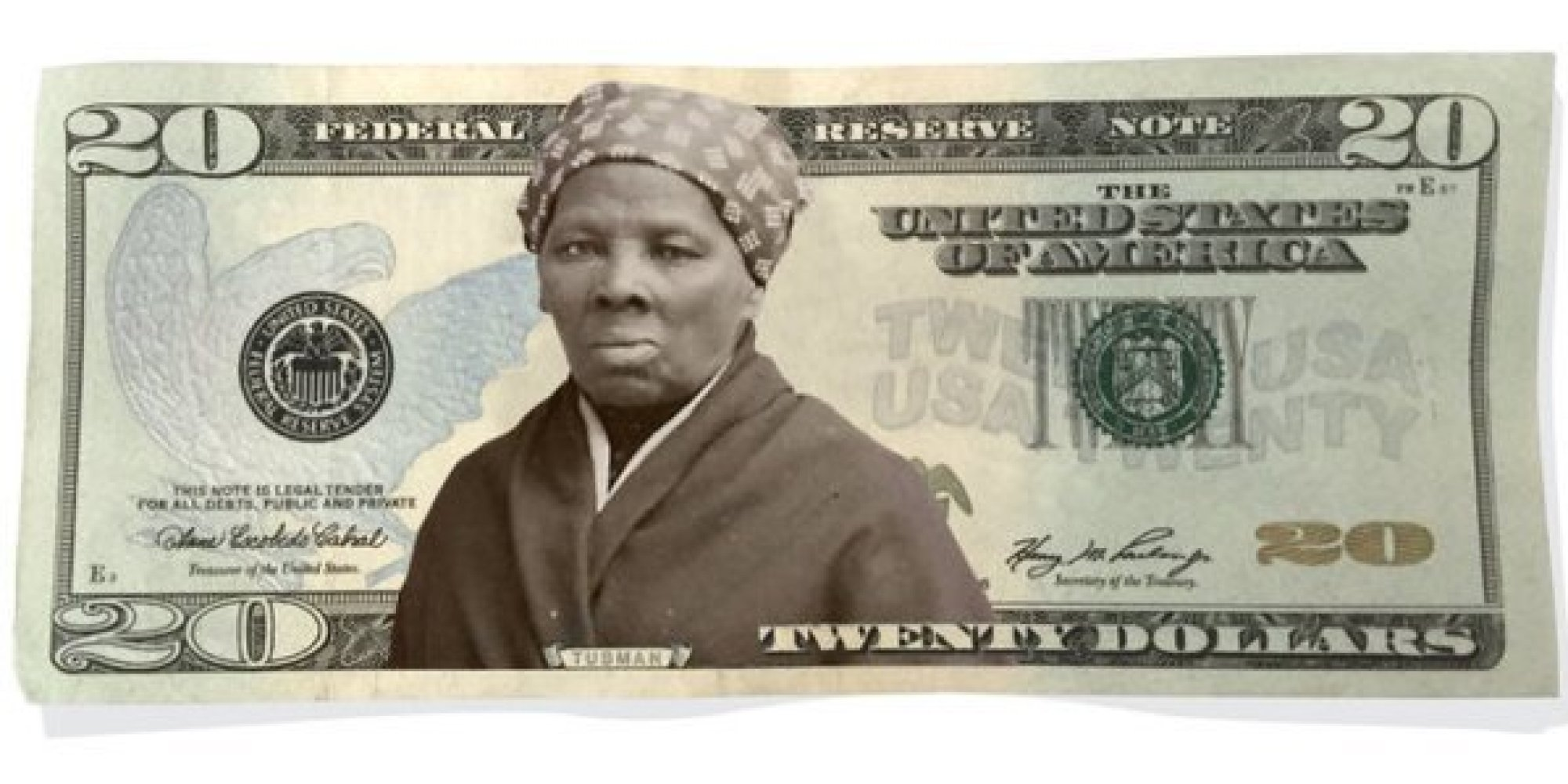 出典:http://www.huffingtonpost.jp/2016/04/22/why-harriet-tubman-on-the-20-bill-is-so-significant_n_9756396.html