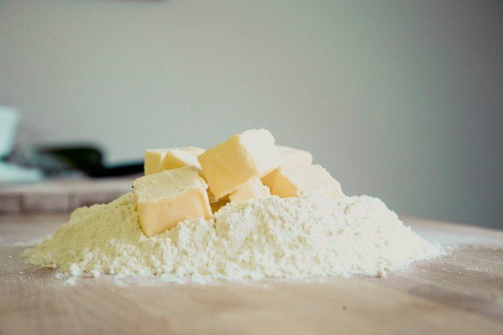 パウダー バター 小麦粉