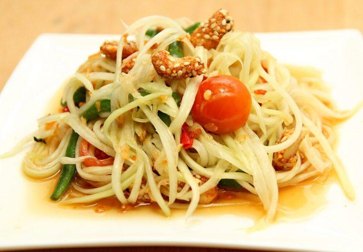 タイ料理 サラダソムタム